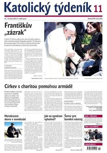 Katolický týdeník - 11/2015 - Elektronické noviny