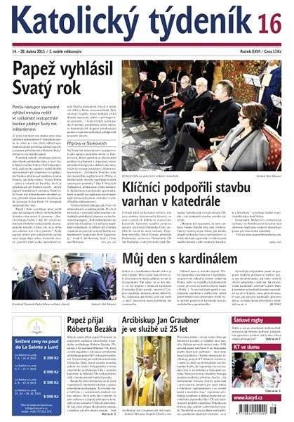 Katolický týdeník - 16/2015 - Elektronické noviny