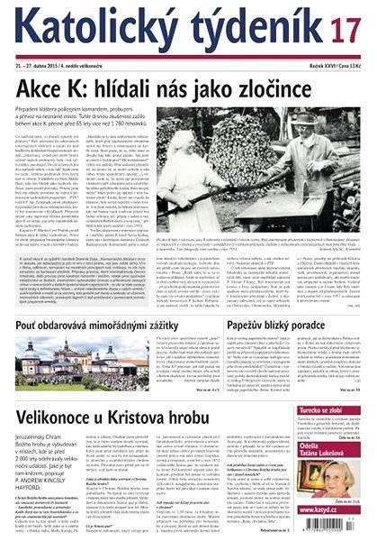 Katolický týdeník - 17/2015 - Electronic Newspaper