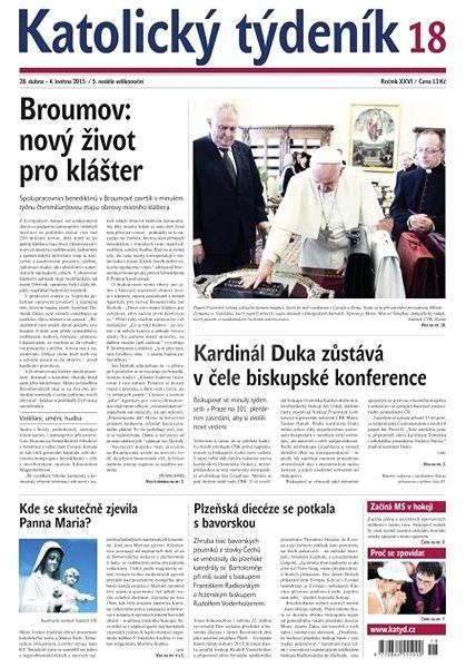 Katolický týdeník - 18/2015 - Electronic Newspaper