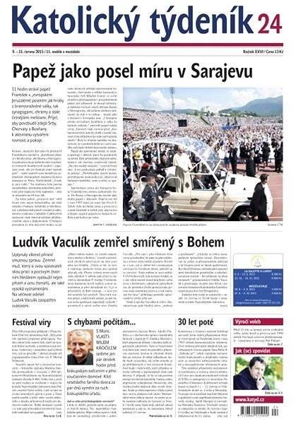 Katolický týdeník - 24/2015 - Electronic Newspaper