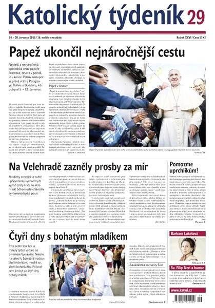 Katolický týdeník - 29/2015 - Elektronické noviny