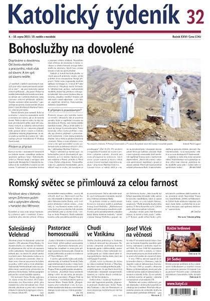 Katolický týdeník - 32/2015 - Elektronické noviny