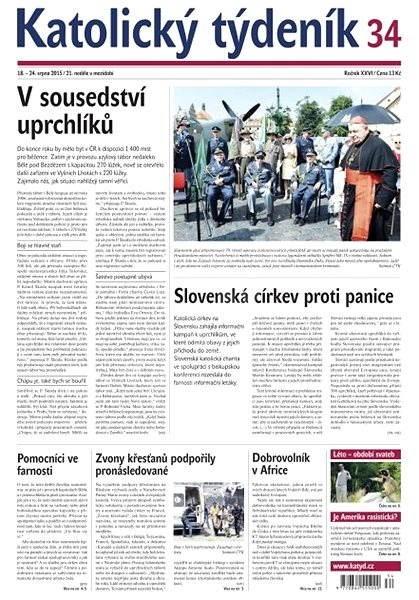 Katolický týdeník - 34/2015 - Elektronické noviny