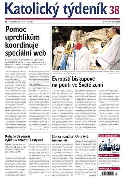 Katolický týdeník - 38/2015 - Elektronické noviny
