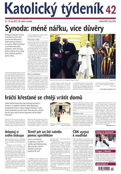 Katolický týdeník - 42/2015 - Elektronické noviny