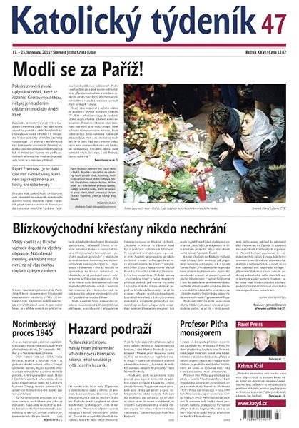 Katolický týdeník - 47/2015 - Elektronické noviny
