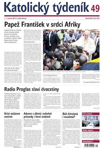Katolický týdeník - 49/2015 - Elektronické noviny