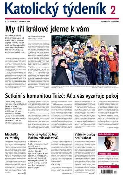 Katolický týdeník - 2/2016 - Elektronické noviny