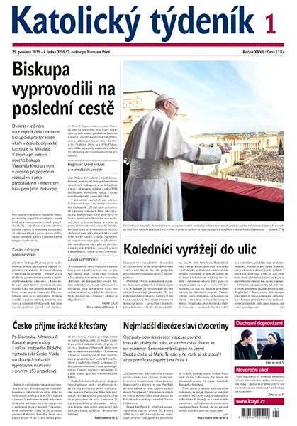 Katolický týdeník - 3/2016 - Elektronické noviny