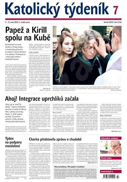Katolický týdeník - 7/2016 - Elektronické noviny