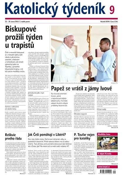 Katolický týdeník - 9/2016 - Elektronické noviny