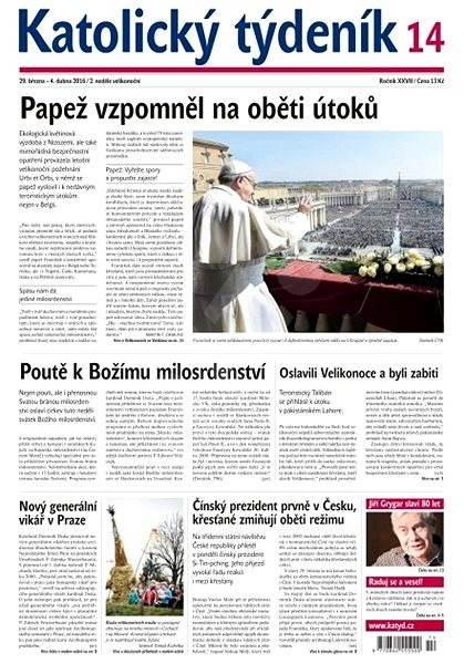 Katolický týdeník - 14/2016 - Elektronické noviny