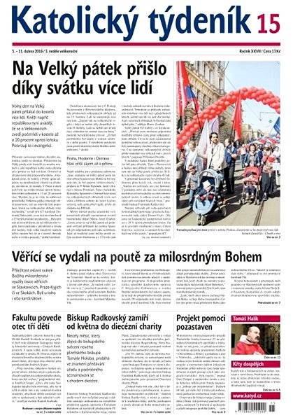 Katolický týdeník - 15/2016 - Elektronické noviny