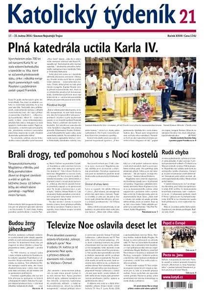Katolický týdeník - 21/2016 - Elektronické noviny