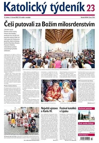 Katolický týdeník - 23/2016 - Elektronické noviny