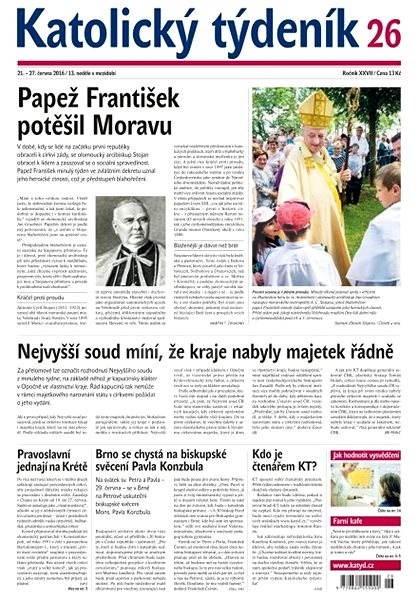 Katolický týdeník - 26/2016 - Elektronické noviny
