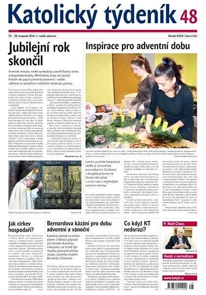 Katolický týdeník - 48/2016 - Elektronické noviny