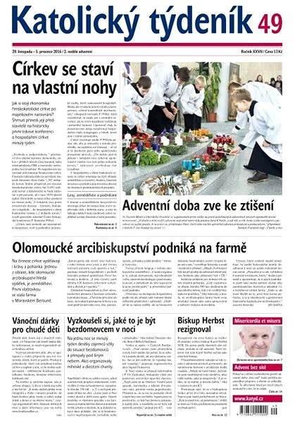 Katolický týdeník - 49/2016 - Elektronické noviny