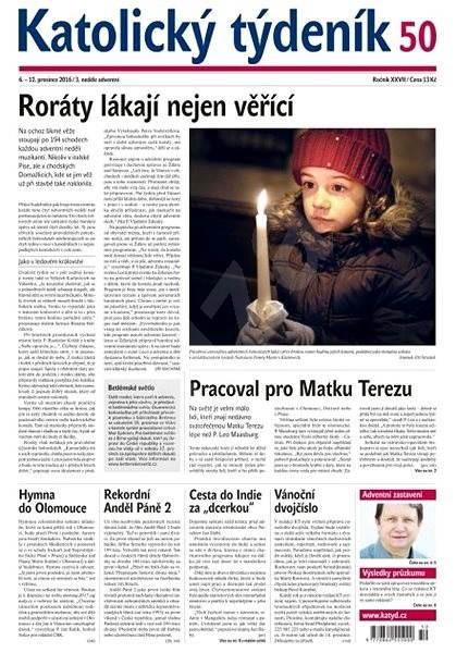 Katolický týdeník - 50/2016 - Elektronické noviny