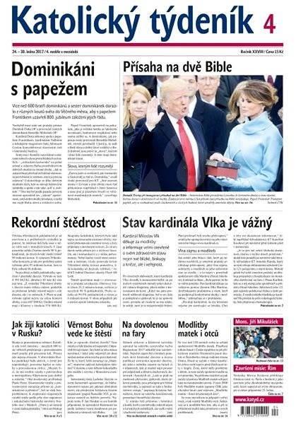 Katolický týdeník - 4/2017 - Elektronické noviny