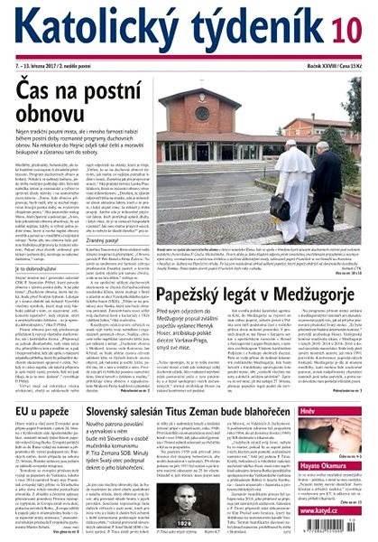 Katolický týdeník - 10/2017 - Elektronické noviny