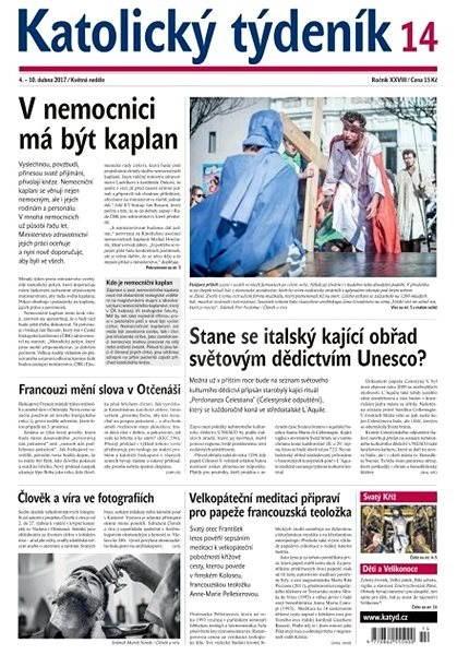Katolický týdeník - 14/2017 - Elektronické noviny
