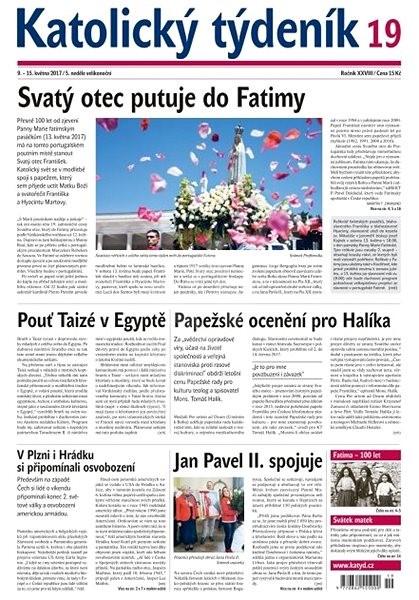 Katolický týdeník - 19/2017 - Elektronické noviny
