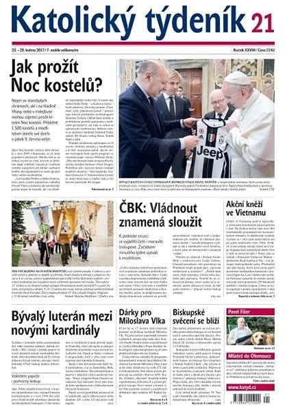 Katolický týdeník - 21/2017 - Elektronické noviny