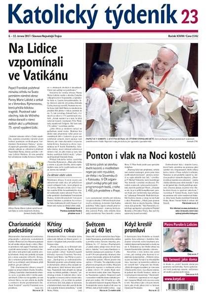 Katolický týdeník - 23/2017 - Elektronické noviny