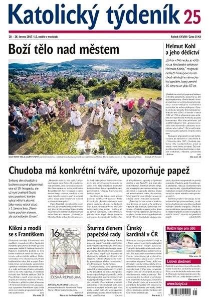 Katolický týdeník - 25/2017 - Elektronické noviny