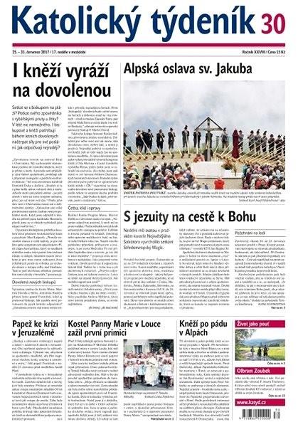 Katolický týdeník - 30/2017 - Elektronické noviny