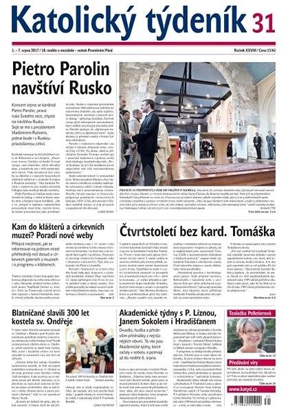Katolický týdeník - 31/2017 - Elektronické noviny