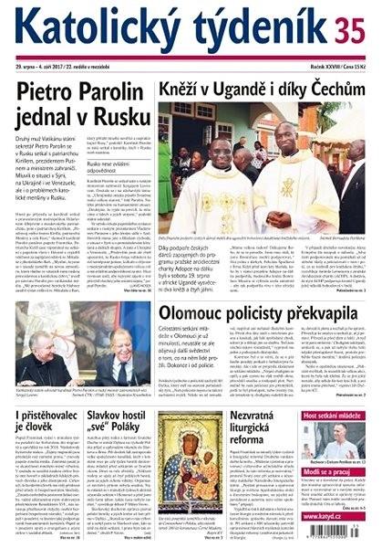 Katolický týdeník - 35/2017 - Elektronické noviny