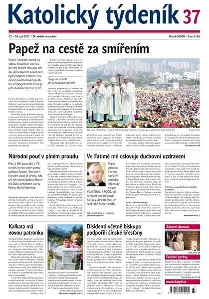 Katolický týdeník - 37/2017 - Elektronické noviny