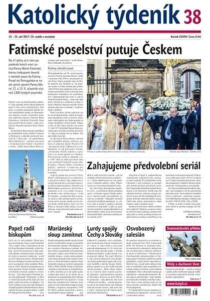 Katolický týdeník - 38/2017 - Elektronické noviny