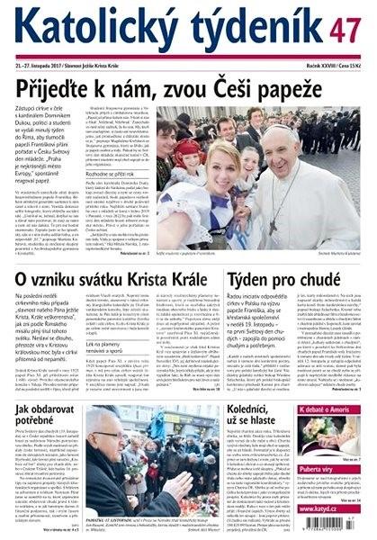 Katolický týdeník - 47/2017 - Elektronické noviny