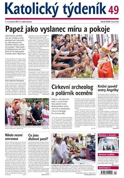 Katolický týdeník - 49/2017 - Elektronické noviny