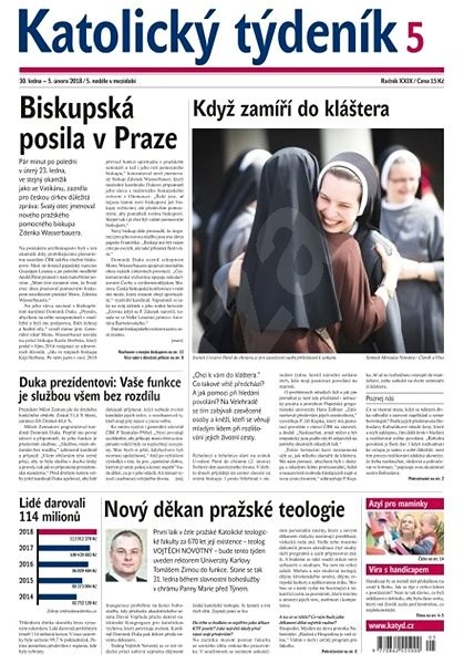 Katolický týdeník - 5/2018 - Elektronické noviny