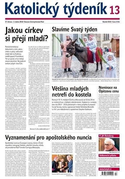 Katolický týdeník - 13/2018 - Elektronické noviny