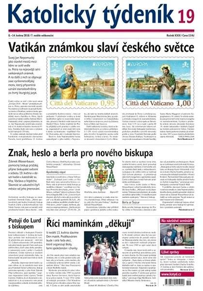 Katolický týdeník - 19/2018 - Elektronické noviny
