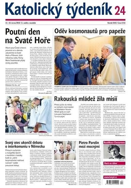 Katolický týdeník - 24/2018 - Elektronické noviny
