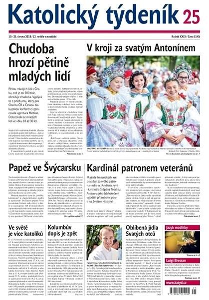 Katolický týdeník - 25/2018 - Elektronické noviny