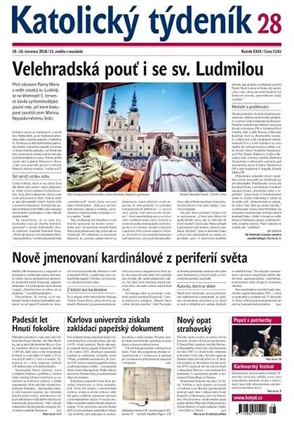 Katolický týdeník - 28/2018 - Elektronické noviny