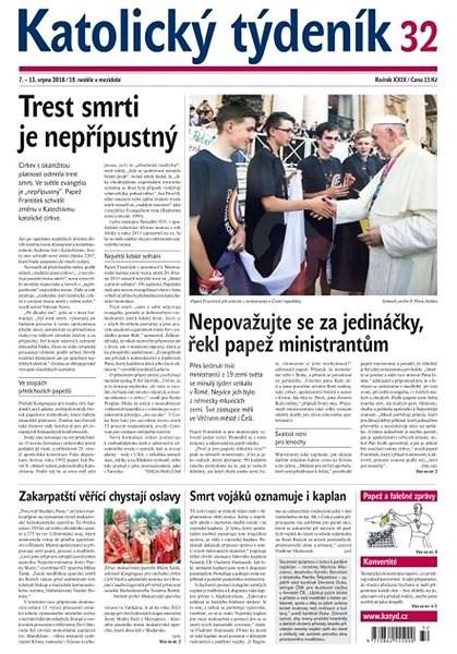 Katolický týdeník - 32/2018 - Elektronické noviny