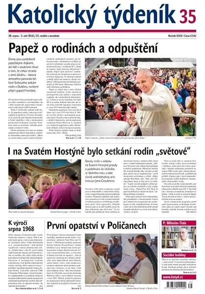 Katolický týdeník - 35/2018 - Elektronické noviny