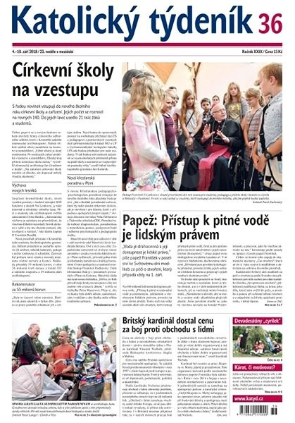 Katolický týdeník - 36/2018 - Elektronické noviny
