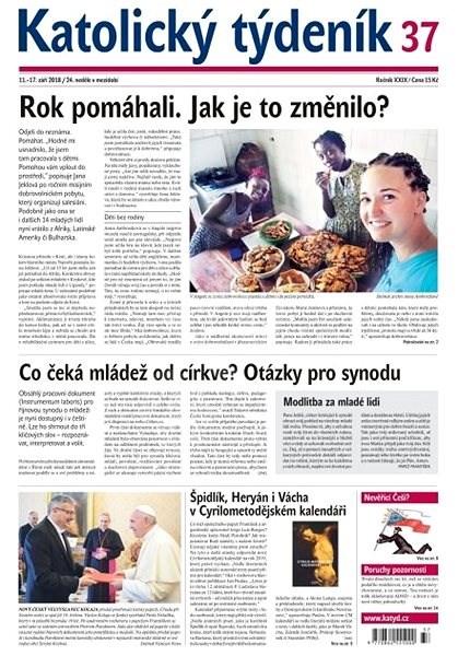 Katolický týdeník - 37/2018 - Elektronické noviny