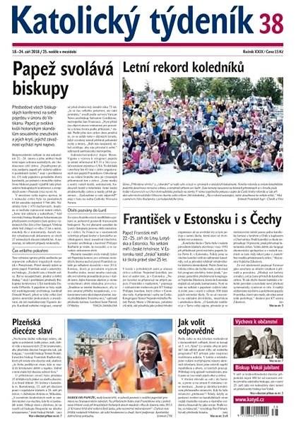 Katolický týdeník - 38/2018 - Elektronické noviny