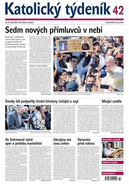 Katolický týdeník - 42/2018 - Elektronické noviny